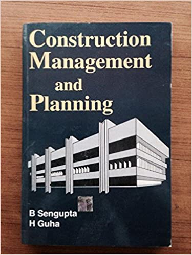 Construction Planning And Management Book