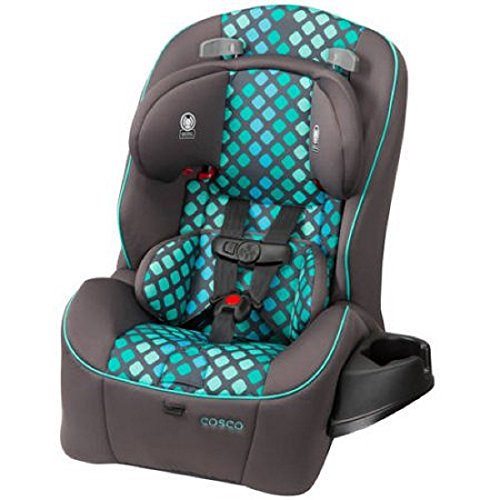 Cosco Easy Elite 3-in-1 Convertible Car Seat,Keep Your Child Safer During the Ride (City Lights)