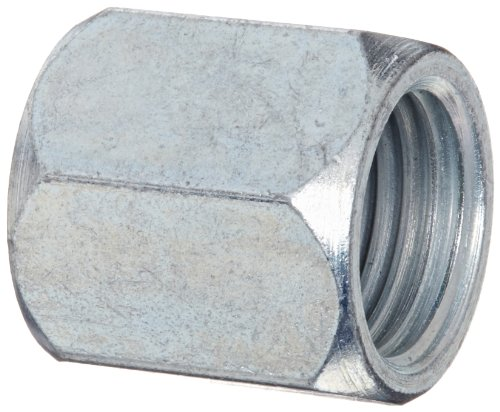Eaton Weatherhead C5105X6 Carbon Steel SAE 37-Degree JIC Flare-Twin Fitting, Nut, 3/8