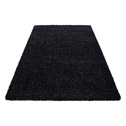 Hochflor Hochflor Hochflor Shaggy Teppich für Wohnzimmer Langflor Pflegeleicht Schadsstof geprüft Teppiche einfarbigOeko Tex Standarts , Farbe Braun, Maße 200x290 cm B07HLPFW3C Teppiche fdc6e1