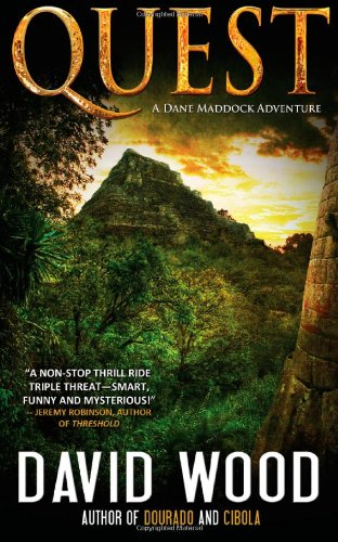 """Quest - A Dane Maddock Adventure"" av David Wood"