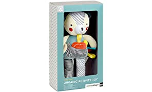 Petit Collage Eco-Friendly Organic Cotton Baby Soft Activity Toy