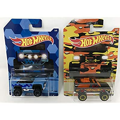 Hot Wheels 2020 Camouflage Series Bundle of 8 Die-Cast Vehicles 1:64 Scale: Toys & Games