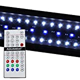 """AQUANEAT Remote Control Aquarium Light Plant 24/7 HIGH LUMEN RGB Automated (48""""-60"""")"""