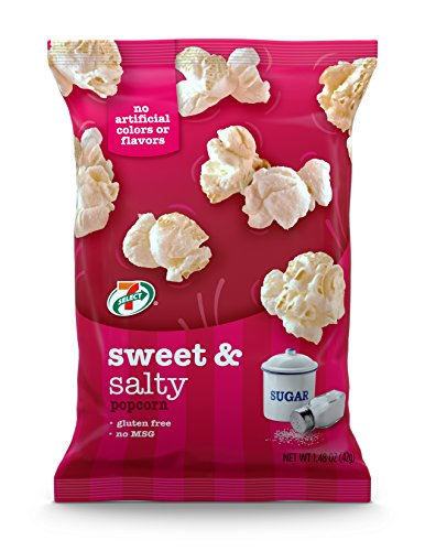 7-Select Sweet and Salty Kettle-Style Popcorn 1.5 oz, 6 Pack Bags