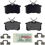Automotive : Bosch BE340H Blue Disc Brake Pad Set For: Audi A3 A4 A6 A8 Allroad RS6 S4 S6 S8 TT Quattro; Volkswagen Beetle, Cabrio, Corrado, Derby, Eos, Golf, Jetta, Lupo, Passat, Quantum, Scirocco, Vento, Rear