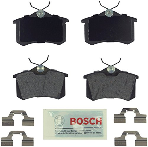 Bosch BE340H Blue Disc Brake Pad Set with (Audi Tt Brake Disc)