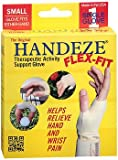 HandEze Flex-Fit Therapeutic Glove Small, Beige - Each, Pack of 4