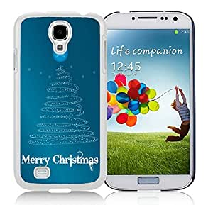 New Design Samsung S4 TPU Protective Skin Cover Art Samsung S4 TPU Protective Skin Cover Christmas Tree White Samsung Galaxy S4 i9500 Case 3