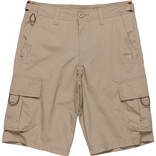 - Burnside Men's Outdoor Adventure Nylon Cargo Short, Khaki Camper, 40