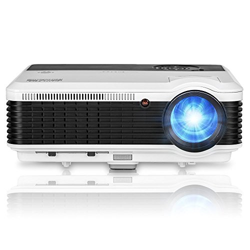 LED 3600 Lumens LCD Portable Projector - Multimedia Home ...