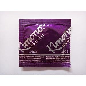 Kimono MicroThin LARGE Condoms - 50 Condoms