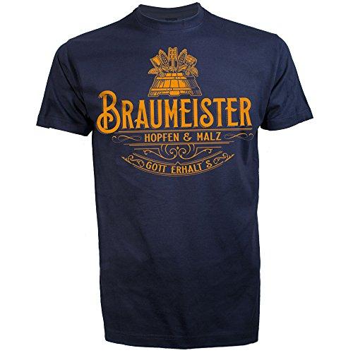 ROAD RODEO T-Shirt, DIY, Craft Beer, Bier, Hobby Shirt, Brauen, BRAUMEISTER