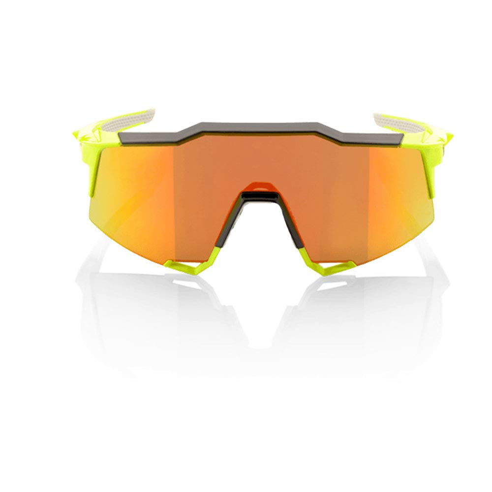 YFFS Cycling Glasses Bicycle Color-Changing Glasses Adult Outdoor Glasses Suitable for Outdoor Cycling Lovers (Color : Yellow)