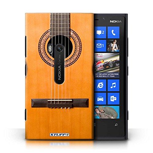Kobalt® Imprimé Etui / Coque pour Nokia Lumia 920 / Acoustique en Bois conception / Série Guitare