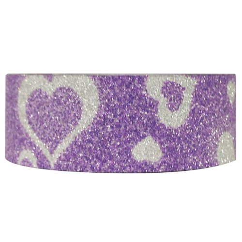 Wrapables Shimmer Washi Masking Purple