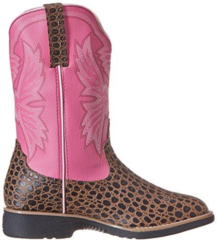 Little Kid Kid Brown Boot Reese Cinch Big Pink Toddler wC4Hxtq