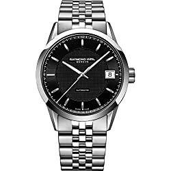 Raymond Weil Men's 'Freelancer' Swiss Automatic Stainless Steel Dress Watch, Color:Silver-Toned (Model: 2740-ST-20021)