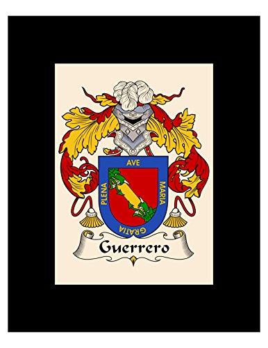 - Carpe Diem Designs Guerrero Coat of Arms/Guerrero Family Crest 8X10 Photo Plaque, Personalized Gift, Wedding Gift