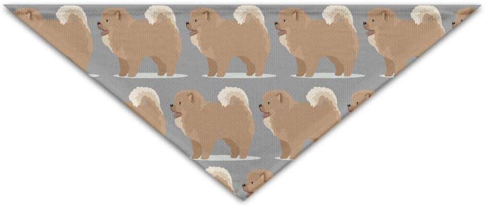 nxnx Chow Chow Perro Mascota Perro Gato Bandana Triángulo Baberos Bufanda Mascota Pañuelo para el Perro Pañuelo Accesorios