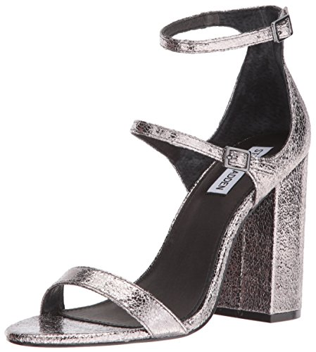 Steve Madden Women's Parrson Dress Sandal Pewter aFQRg