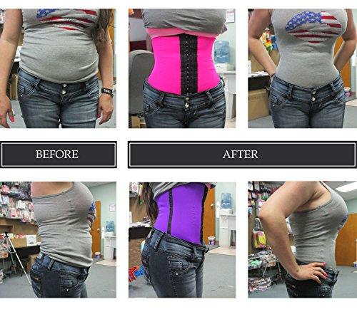4e449492a Ursula Waist Trainer for Weight Loss Latex Workout Cincher Hourglass ...