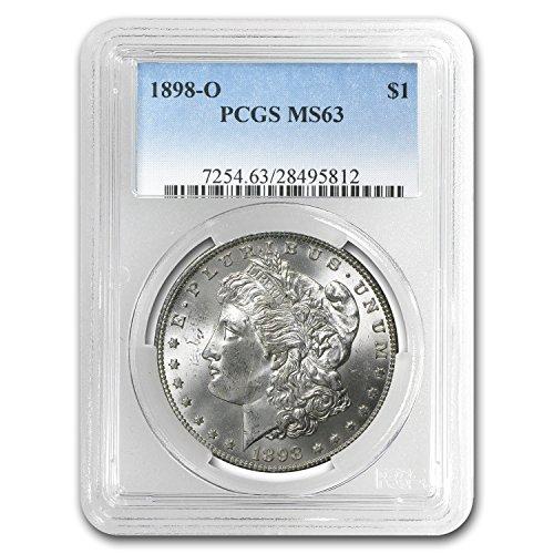 1898 O Morgan Dollar MS-63 PCGS $1 MS-63 PCGS