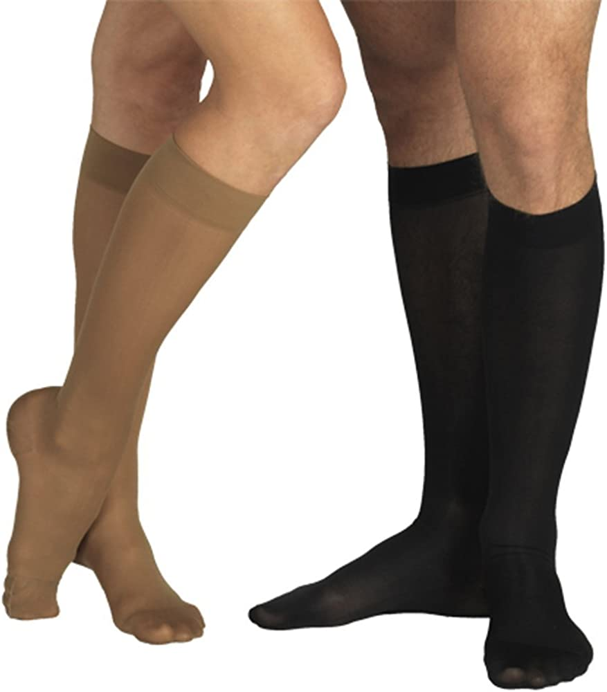18-21 Mmhg Medical Compression Socks mit Closed Toe, Firm Grade Class Ii, Knee hoch Support Stockings mit Toecap