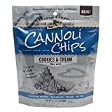 Golden Cannoli Cookies & Cream Cannoli Chips 5.1oz , pack of 1