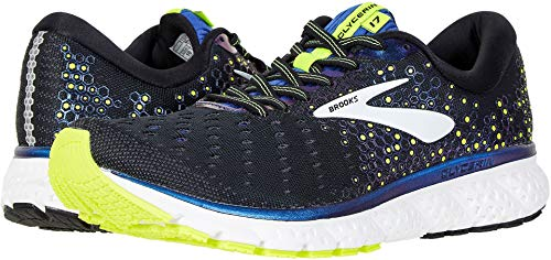 Brooks Men's Glycerin 17 Black/Blue/Nightlife 7.5 D US by Brooks (Image #3)
