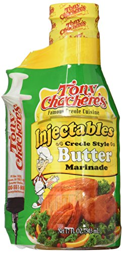 Tony Chacheres Butter Marinade, Regular, 17 oz
