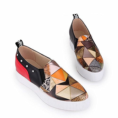 Charm Foot Womens New Chic Tacco Basso Casual Comfort Penny Mocassini Scarpe Gialle