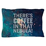 CafePress - Janeway Coffee In That Nebula - Standard Size Pillow Case, 20''x30'' Pillow Cover, Unique Pillow Slip