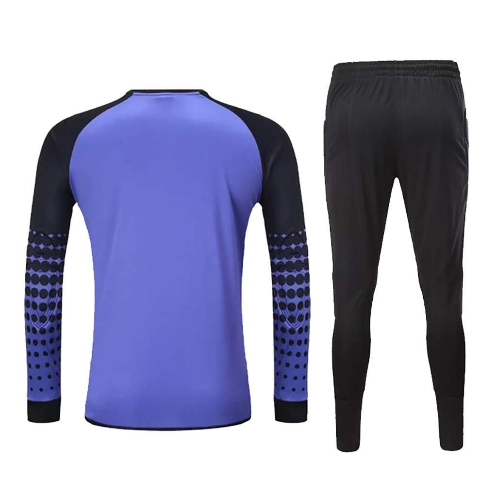 WHSPORT Adulto de Portero de fútbol Jerseys Pantalones Largos ...