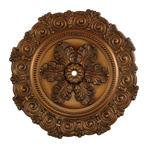 Elk M1011AB Marietta Ceiling Medallion, 33-Inch, Antique Bronze - Outlet Marietta