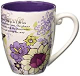 Pavilion Mark My Words The Best Things in Life Mug, 20-Ounce, 4-3/4-Inch