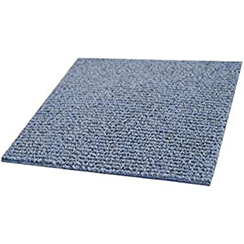 Incstores Berber Carpet Tiles Ocean Blue 20 Per Pack