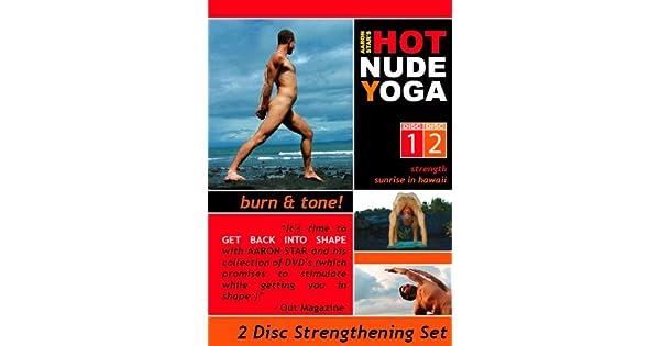 Amazon.com: Hot Nude Yoga - Burn & Tone - 2 DVD Yoga Fitness ...