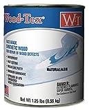 Wood-Tex 34021026 Wood Filler Adhesive - Pint, Natural/Ash