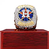 2017 HOUSTON ASTROS WORLD SERIES REPLICA CHAMPIONSHIP RING WITH WOODEN BOX (SIZE 8-14)