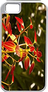 iPhone 4 Case iPhone 4S Case Cases Customized Gifts Cover red Leaves - Ideal Gift