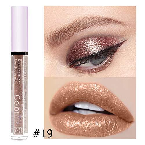 - Makeup Glitter Eye Shadow Long Lasting Liquid Eyeshadow Single Diamond Metallic Lip Gloss Pencil Eyes Comestic