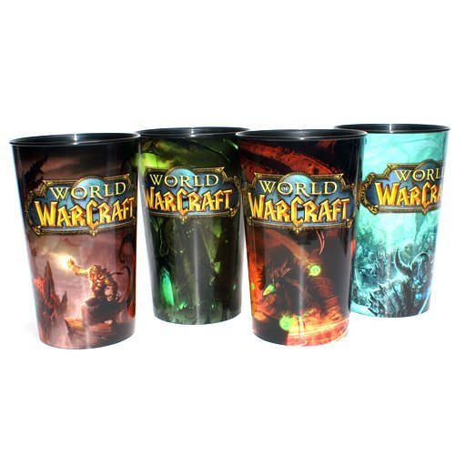 Limited Edition World of Warcraft Cups Set of 4