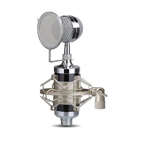 GJY Micrófono de Condensador Emisión de micrófonos de ...