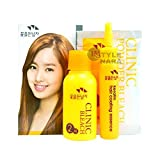 Bleaching Hair Orange Stage - HAIR CLINIC POWDER BLEACH KIT Professional Dye Color Lightener Lightening highlights