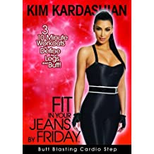 Kim Kardashian: Fit In Your Jeans by Friday: Butt Blasting Cardio Step by Watch It Now TV