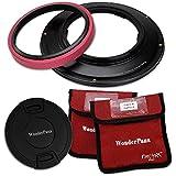 WonderPana FreeArc Core Filter Holder and Lens Cap Only for Sony FE 12-24mm f/4 G E-Mount Lens