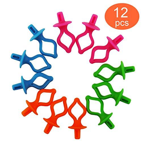 Bobbin Thread Holder - Storage your Bobbins on Top of Thread Spools - Bobbins Organizer and Saver From Dream Stitch (12 PCS)