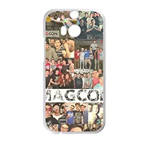 LINGH Magcon Fashion Comstom Plastic case cover For HTC One M8