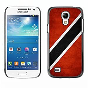 Shell-Star ( National Flag Series-Trinidad and Tobago ) Snap On Hard Protective Case For Samsung Galaxy S4 MINI / i9190 / i9192